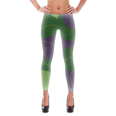 Purple Buddy Leggings