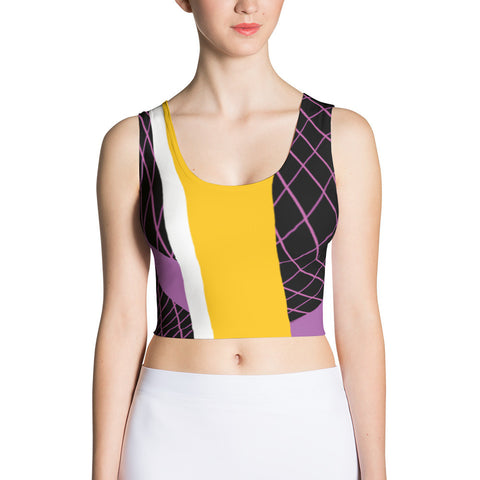 90's Softwear Sublimation Cut & Sew Crop Top