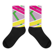 Deauxpazz Retro Black foot socks
