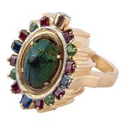 Gordon Aatlo Legacy Collection: 18k Egyptian Inspired Poison Ring - Aatlo Jewelry Gallery