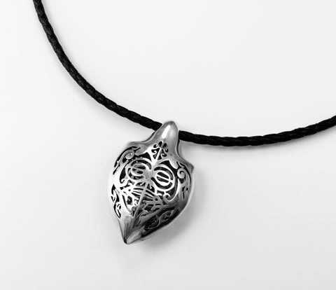 Honu Polished Sterling Silver Pendant - Done - Aatlo Jewelry Gallery