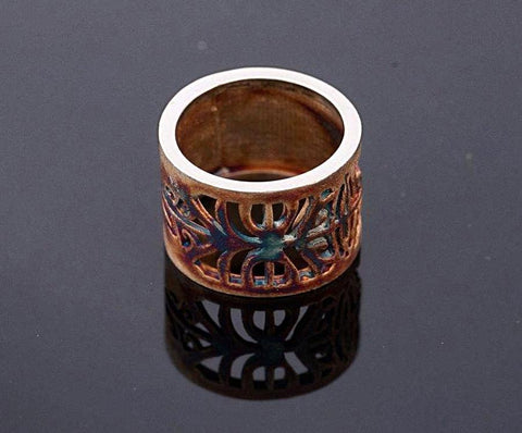 Honu Earth Ring - Aatlo Jewelry Gallery