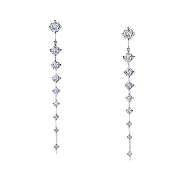 Lafonn Icicle Lassaire Diamond Drop Earrings - Aatlo Jewelry Gallery