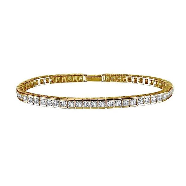 Lafonn Princess Cut Diamond Tennis Bracelet - Aatlo Jewelry Gallery