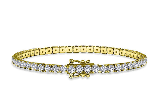 Lafonn Lassaire Diamond 10th Anniversary Love Tennis Bracelet