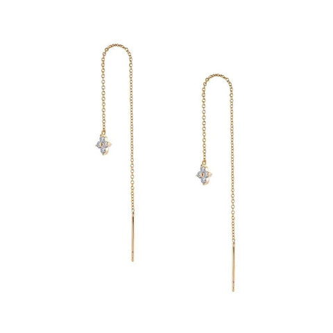 Lafonn Classic Lassaire Yellow Gold Treader Drop Earrings