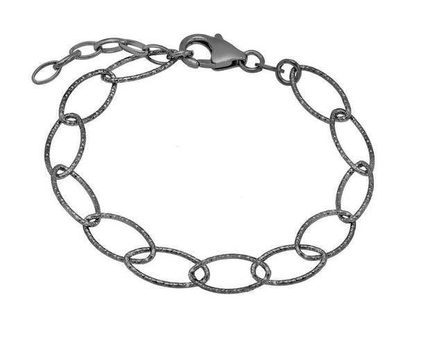 Peter Storm Black Diamond Cut Loop Bracelet