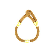 Peter Storm Yellow Silk Bracelet