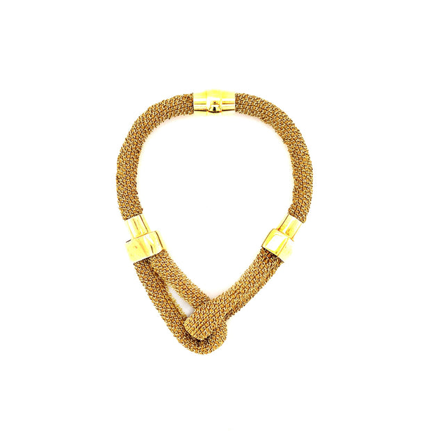 Peter Storm Yellow Silk Knot Bracelet