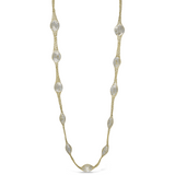 Peter Storm Woven Yellow Gold and Quartz Necklace - Aatlo Jewelry Gallery