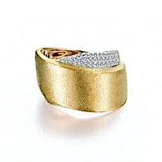 Lafonn Pave Glam Ring With Diamonds - Aatlo Jewelry Gallery