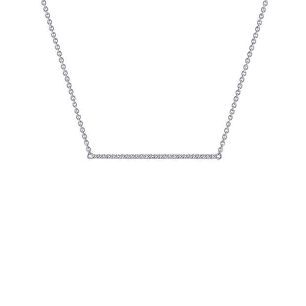 Lafonn Lassaire Diamond Bar Necklace