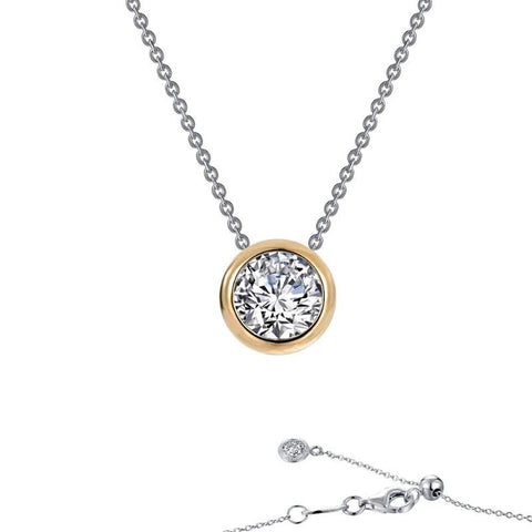 Lafonn Monte Carlo Collection Lassaire Diamond Bezel Set Pendant