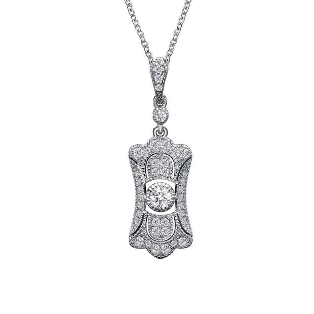 Lafonn Laissaire Diamond Heritage Collection Pendant - Aatlo Jewelry Gallery