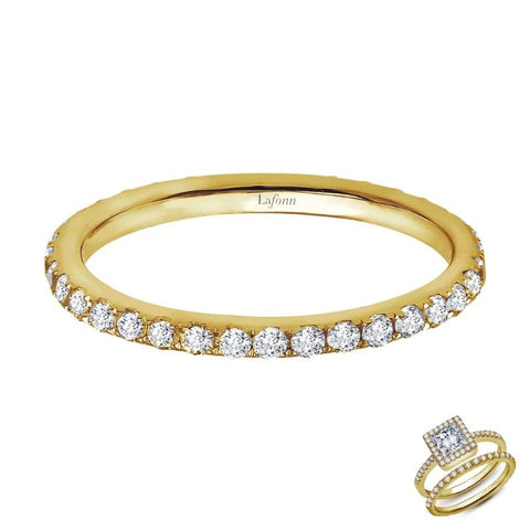 Eternity Band With Round Lassiare Diamonds - Aatlo Jewelry Gallery