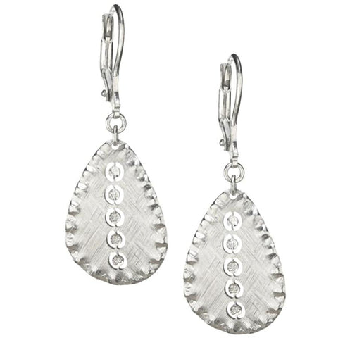 Frederic Duclos Stardust Sterling Silver Earrings - Aatlo Jewelry Gallery