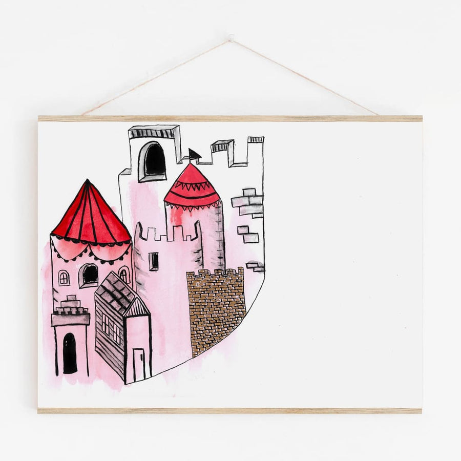 Castle City - Kids Print - Prints