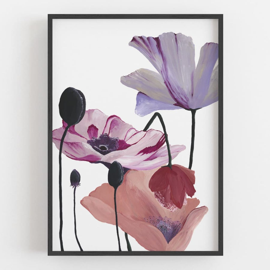 Display Stock | Fine Art Prints - Regal 50 x 70cm Black Frame - Open Edition Fine Art Print