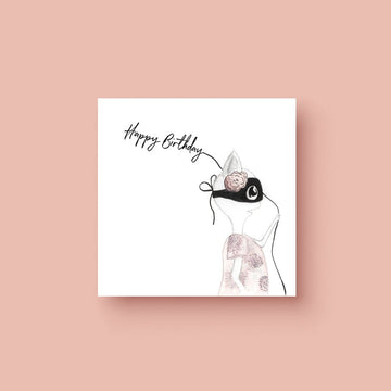 Happy Birthday (Ms Heart) - Greeting Card - Greeting Cards