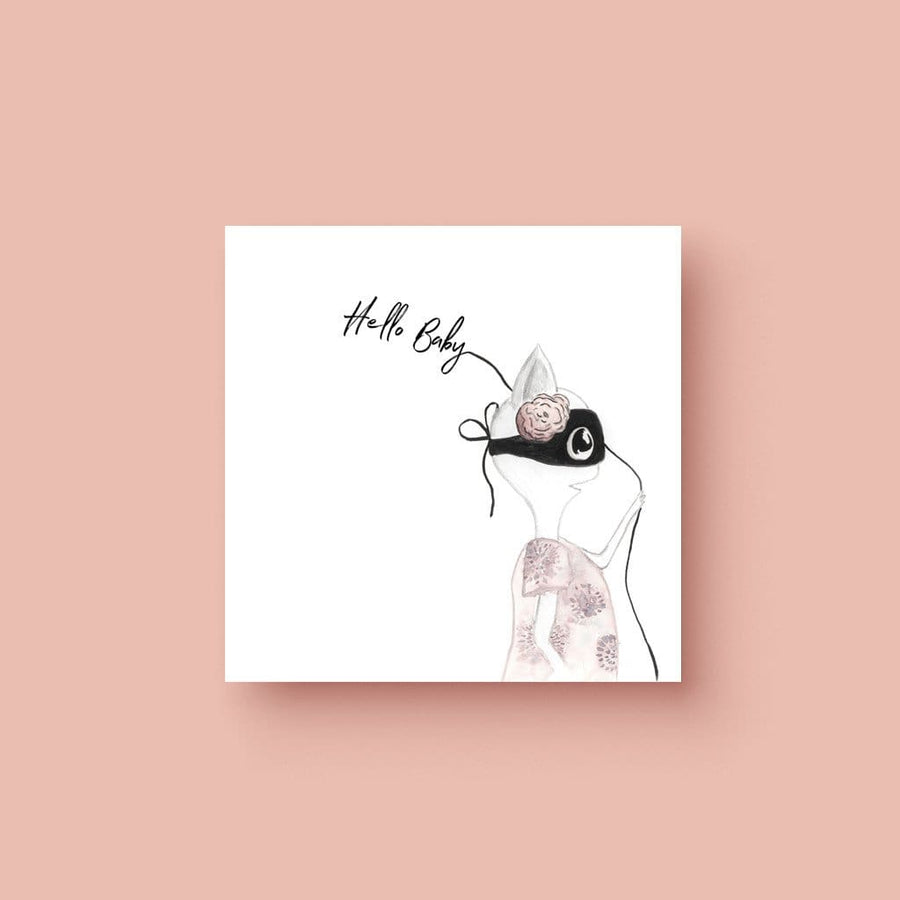 Hello Baby (Ms Heart) - Greeting Card - Greeting Cards