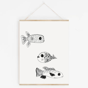 I Sea U - Kids Print - Prints