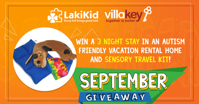September Sensory Travel Kit + 3 Night Stay Giveaway