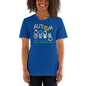 Autism Mom T Shirts | Seeing The World At A Different Angle - LakiKid