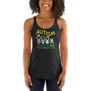 Autism Mom Tank Tops | Embrace the Amazing - LakiKid
