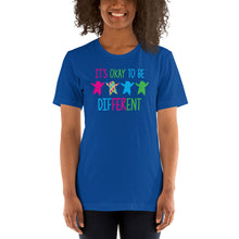 Autism Mom T Shirts | It's Okay To Be Different - LakiKid