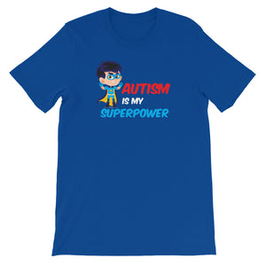 Autism Mom T Shirts | Autism Is My Super Power - LakiKid