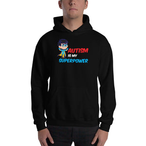 Autism Dad Hoodies | Autism Is My Super Power - LakiKid