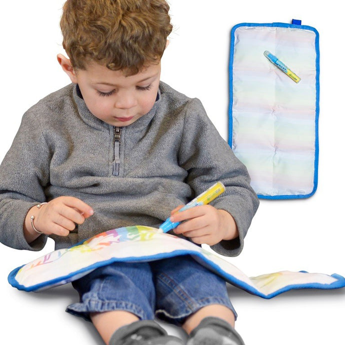 Write and Chill - The World's Only Writable Weighted Lap Pad! - LakiKid