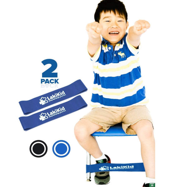 Fidget Chair Bands for Classroom: Perfect for Kids with ADHD, Fidgety feet- Affordable Flexible or Alternative Seating Option - 20