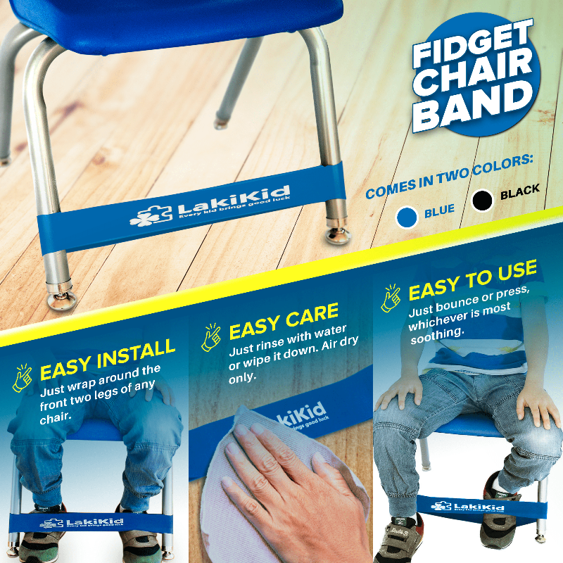Fidget Chair Bands For Classroom Perfect For Kids With