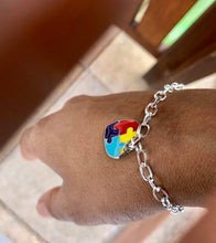 New LakiKid Autism Awareness Bracelets- Stronger Autism Bracelet with Puzzle Piece Charm … - LakiKid