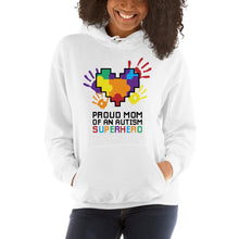 Autism Mom Hoodies | Proud Mom Of An Autism Superhero Puzzle Piece - LakiKid