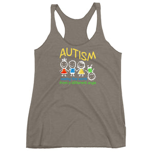 Autism Mom Tank Tops | Seeing The World At A Different Angle - LakiKid