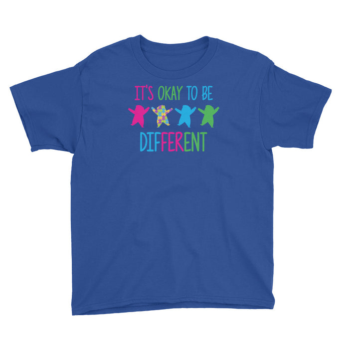 It's Okay To Be Different | LakiKid Autism Awareness Shirt for Kids - LakiKid