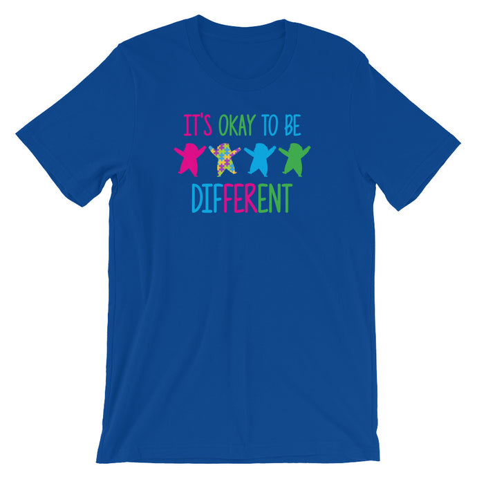 It's Okay To Be Different | LakiKid Autism Awareness Shirts