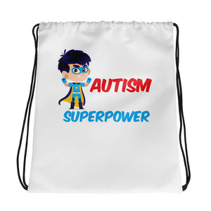 Autism is My Superpower | Drawstring bag - LakiKid