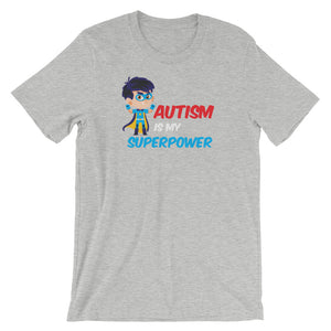 Autism Dad T Shirts | Autism Is My Super Power - LakiKid