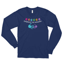 Embrace the Amazing | LakiKid Autism Awareness Long Sleeve Shirt for Dad - LakiKid