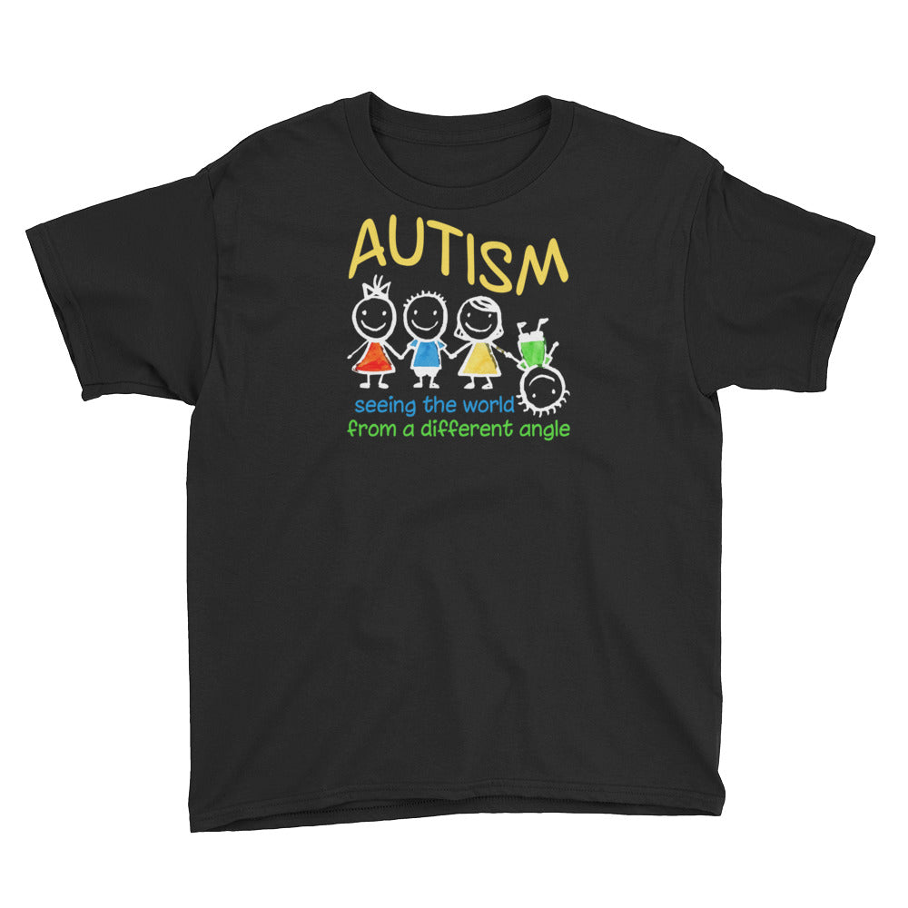 Seeing The World At A Different | LakiKid Autism Awareness Shirt for Kids - LakiKid