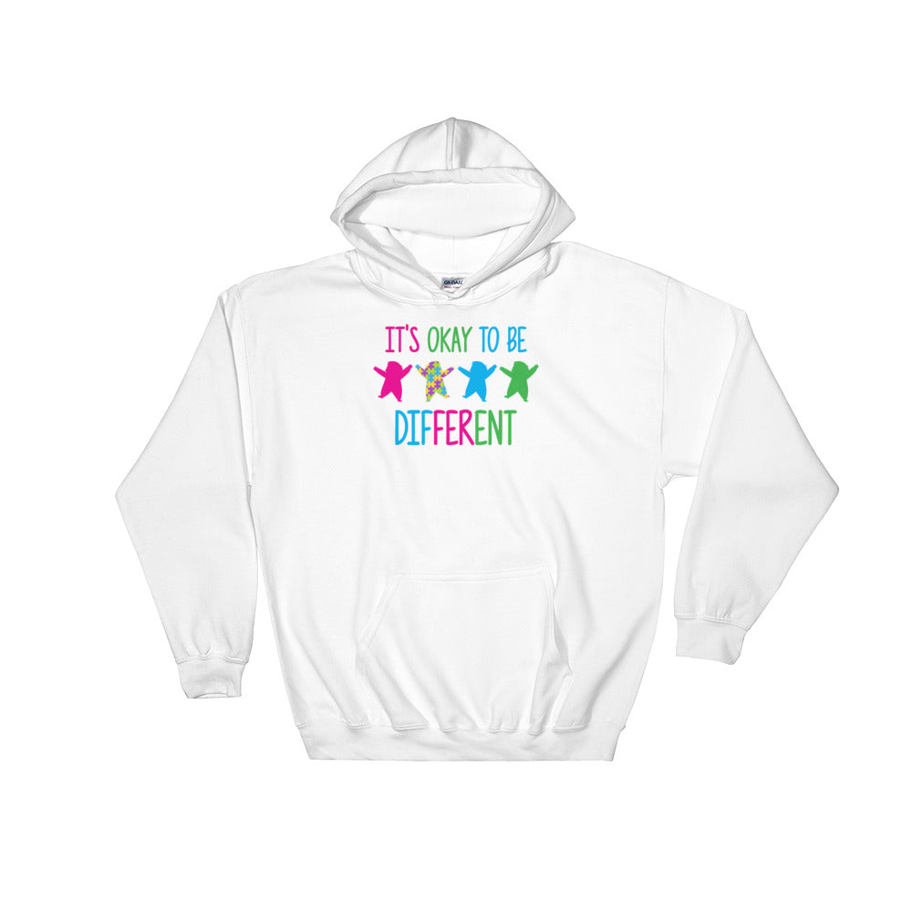 Autism Dad Hoodies | It's Okay To Be Different - LakiKid