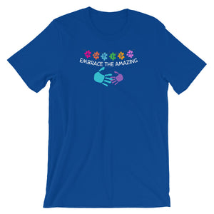 Autism Dad T Shirts | Embrace the Amazing - LakiKid
