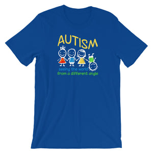Seeing The World At A Different Angle | LakiKid Autism Awareness Shirts - LakiKid