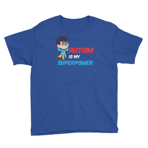 Autism Is My Super Power | LakiKid Autism Awareness Shirt for Kids - LakiKid