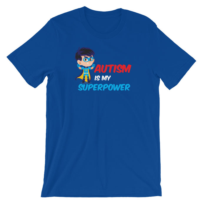 Autism Is My Super Power | LakiKid Autism Awareness Shirts - LakiKid
