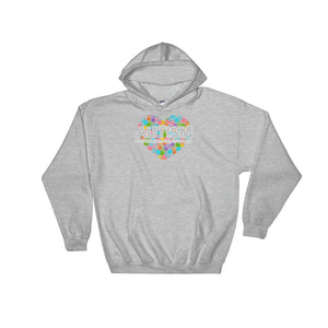 Autism Dad Hoodies | Support Educate Advocate - LakiKid