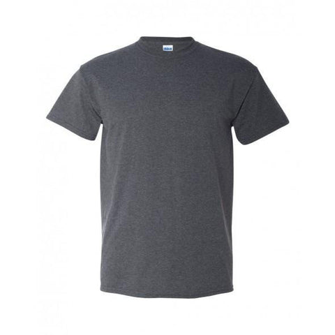 Heather Gray T-Shirt with 1-color-print - HuddyWear